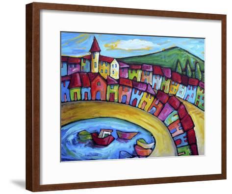 Monaco, Cote d'Azur - France-Sara Catena-Framed Art Print