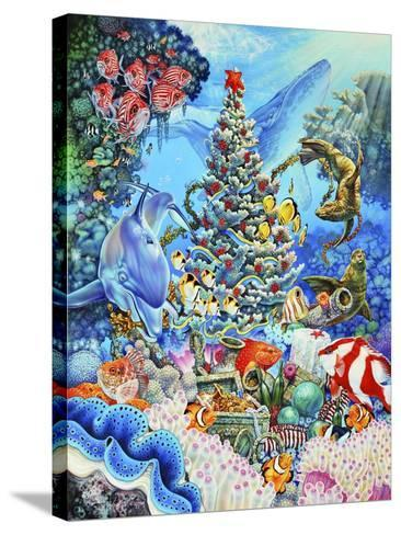 Christmas under the Sea-Tim Knepp-Stretched Canvas Print