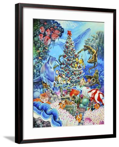 Christmas under the Sea-Tim Knepp-Framed Art Print