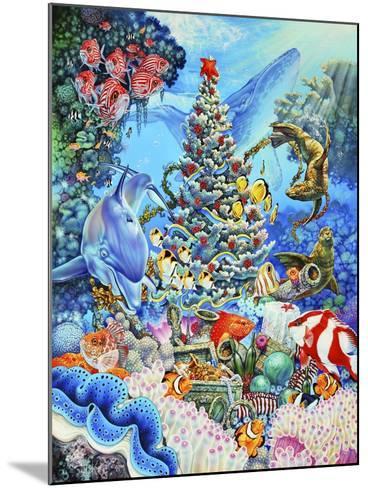 Christmas under the Sea-Tim Knepp-Mounted Giclee Print