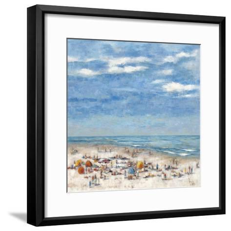 In the Summertime-Wendy Wooden-Framed Art Print