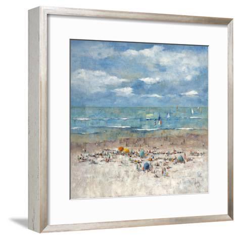 Summer Breeze-Wendy Wooden-Framed Art Print