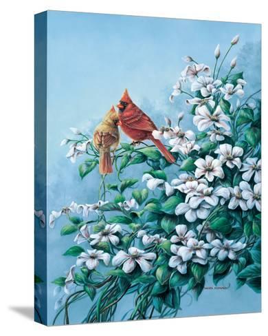 Cardinals-Wanda Mumm-Stretched Canvas Print