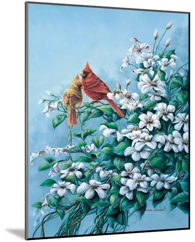 Cardinals-Wanda Mumm-Mounted Giclee Print