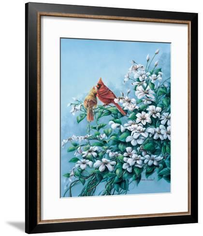 Cardinals-Wanda Mumm-Framed Art Print