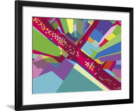 Intersection 1-Yoni Alter-Framed Art Print