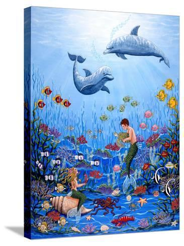 Fantasea-Sheila Lee-Stretched Canvas Print