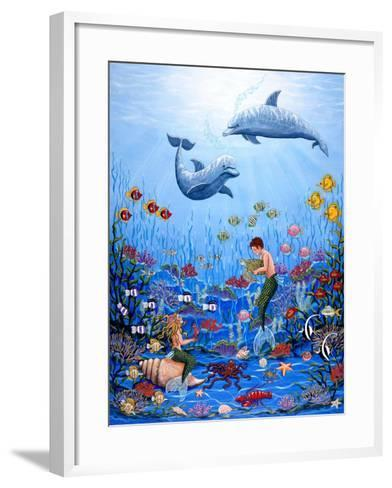 Fantasea-Sheila Lee-Framed Art Print