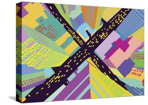 Intersection 2-Yoni Alter-Stretched Canvas Print