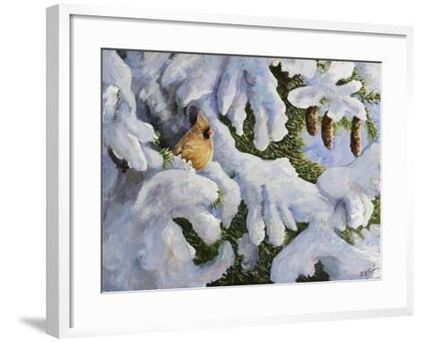 Lady in the Pines-Sarah Davis-Framed Art Print