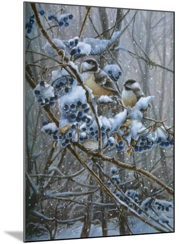 Snowy Treasure-Wanda Mumm-Mounted Giclee Print