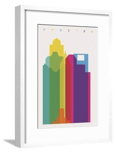 Houston-Yoni Alter-Framed Art Print