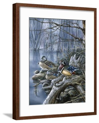 Spring Woodies-Wanda Mumm-Framed Art Print