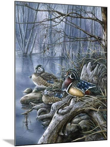 Spring Woodies-Wanda Mumm-Mounted Giclee Print