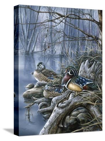 Spring Woodies-Wanda Mumm-Stretched Canvas Print
