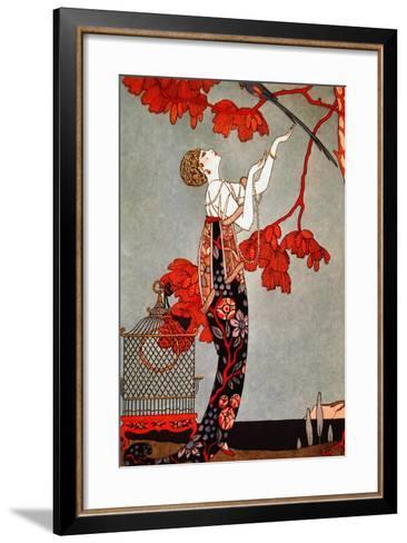 Barbier 2-Vintage Apple Collection-Framed Art Print