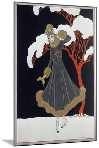Barbier Dress-Vintage Apple Collection-Mounted Giclee Print