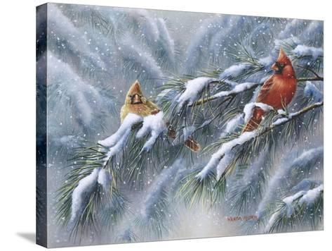 Winter Reds-Wanda Mumm-Stretched Canvas Print