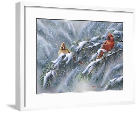 Winter Reds-Wanda Mumm-Framed Art Print