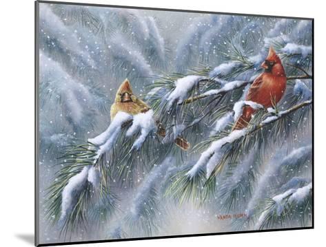 Winter Reds-Wanda Mumm-Mounted Giclee Print