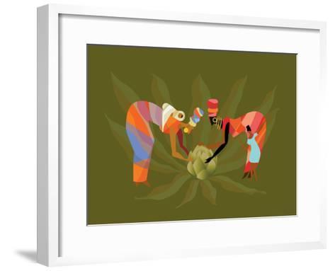 D 3 Iyff Crops-Sergio Baradat-Framed Art Print