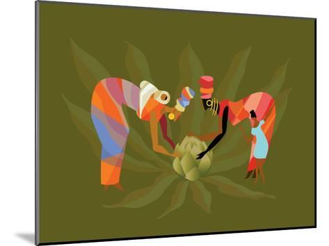 D 3 Iyff Crops-Sergio Baradat-Mounted Giclee Print