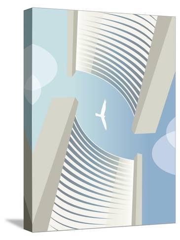 C 5 Vienna Bird-Sergio Baradat-Stretched Canvas Print