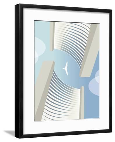 C 5 Vienna Bird-Sergio Baradat-Framed Art Print