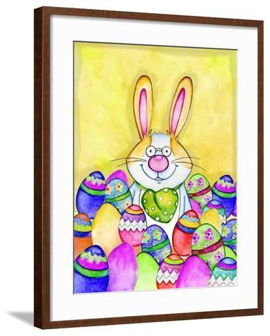 Easter Bunny-Valarie Wade-Framed Art Print