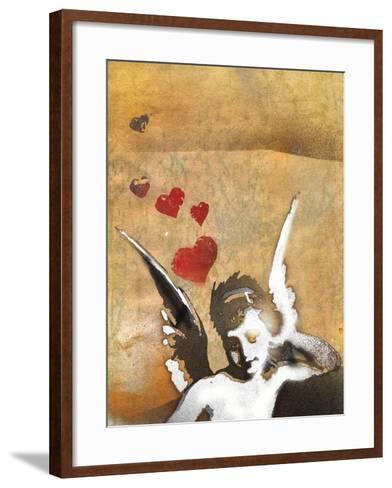 Cherub-Whoartnow-Framed Art Print