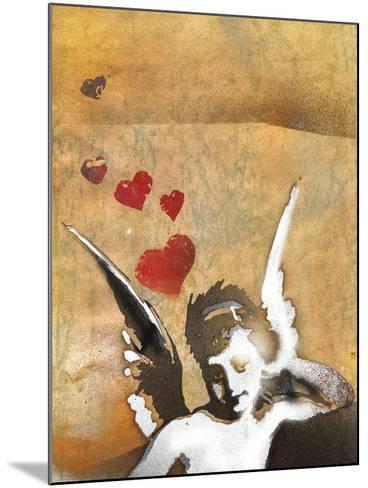 Cherub-Whoartnow-Mounted Giclee Print