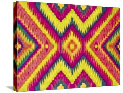 Bright Pattern-Whoartnow-Stretched Canvas Print