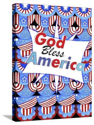 God Bless America-Valarie Wade-Stretched Canvas Print