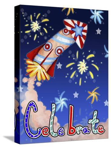 Rocket Celebration-Valarie Wade-Stretched Canvas Print