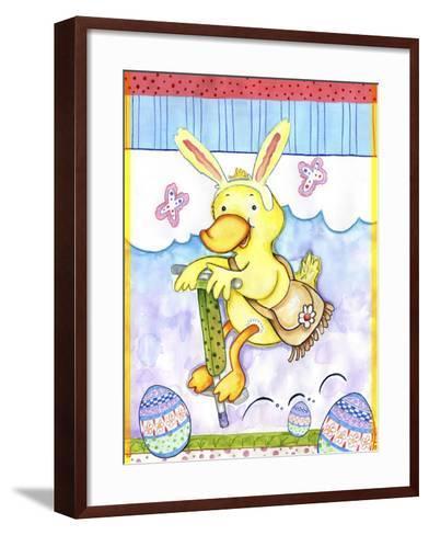 Bunny Hop-Valarie Wade-Framed Art Print