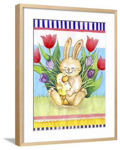 Bunny Hugs-Valarie Wade-Framed Art Print