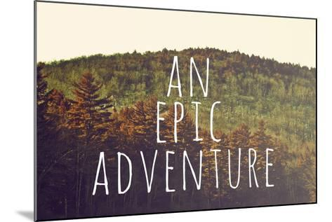 An Epic Adventure-Vintage Skies-Mounted Giclee Print