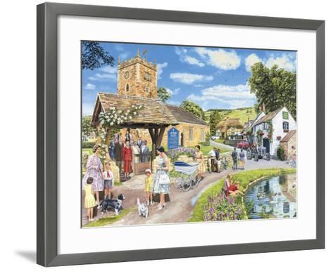 Sunday Service-Trevor Mitchell-Framed Art Print