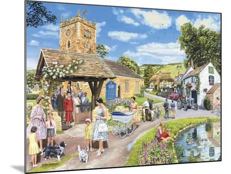 Sunday Service-Trevor Mitchell-Mounted Giclee Print