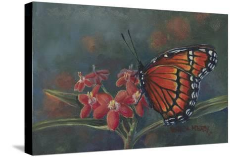 Monarch-Wanda Mumm-Stretched Canvas Print