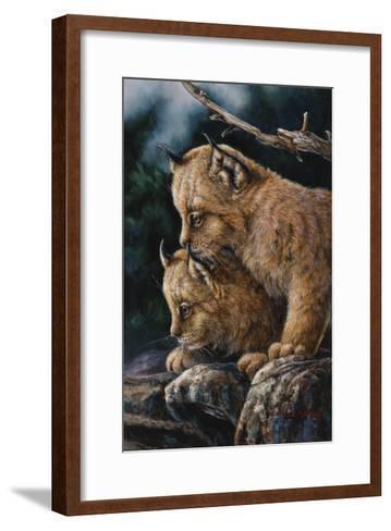 Just the Two of Us-Wanda Mumm-Framed Art Print