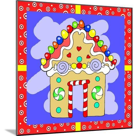 Gingerbread House-Valarie Wade-Mounted Giclee Print