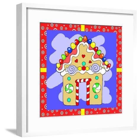 Gingerbread House-Valarie Wade-Framed Art Print