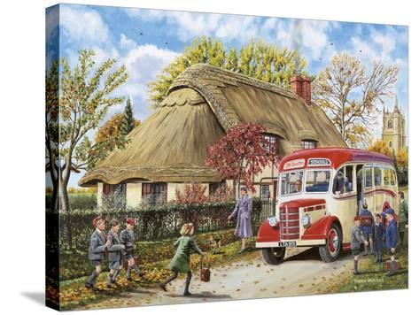 Autumn Term-Trevor Mitchell-Stretched Canvas Print