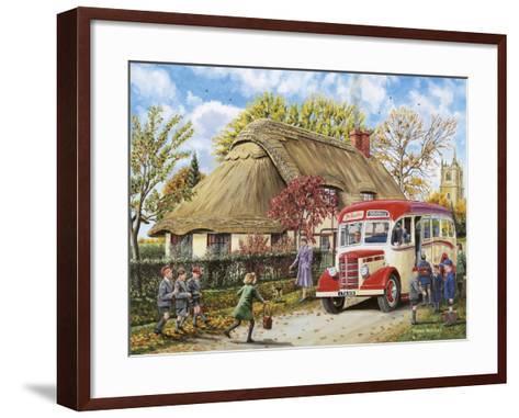 Autumn Term-Trevor Mitchell-Framed Art Print