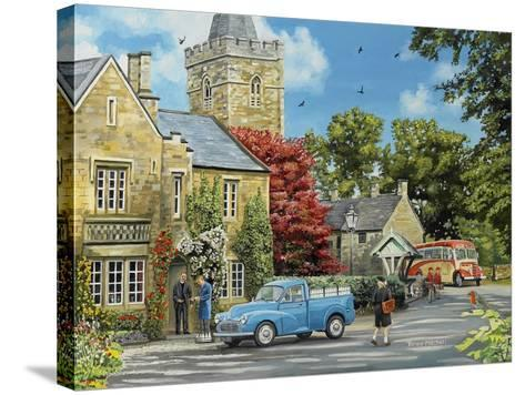 At the Vicarage-Trevor Mitchell-Stretched Canvas Print