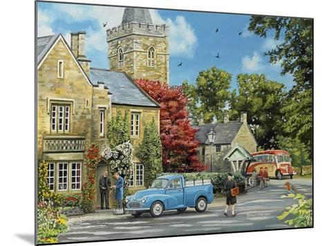 At the Vicarage-Trevor Mitchell-Mounted Giclee Print
