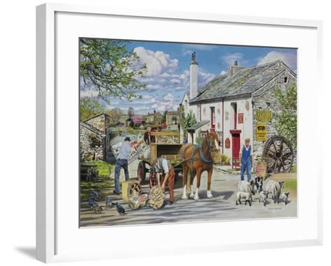 The Old Mill-Trevor Mitchell-Framed Art Print