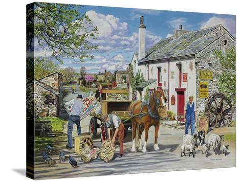 The Old Mill-Trevor Mitchell-Stretched Canvas Print