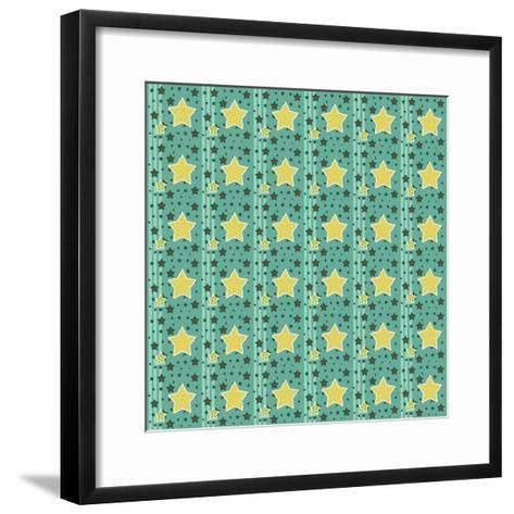 Stars 1-Valarie Wade-Framed Art Print